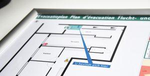 Evakuierungsplan erstellen