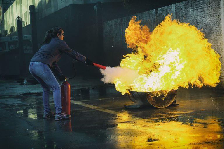 Brandbekämpfungsdienst